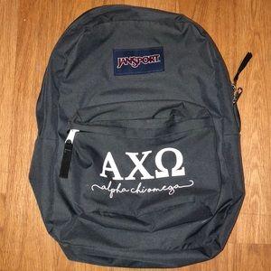Alpha Chi Omega Backpack AXO